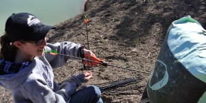 Little Gal uses TenPoint Crossbow Perfect Puller