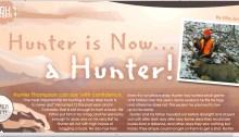 Youth hunter, Colorado Mule Deer, NRA Insights deer hunt,