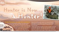 Youth hunter, Colorado Mule Deer, NRA Insights deer hunt,
