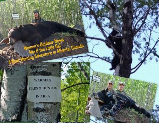 Mia & the Little Gal - A bear hunting adventure in Alberta, Canada