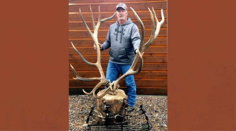 Potential New World's Record American Elk Mia Anstine - Encouraging