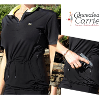 Concealed Carry Athletic Shirt for Women by Concealed Carrie