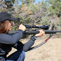 Choosing a hunting rifle for the lady