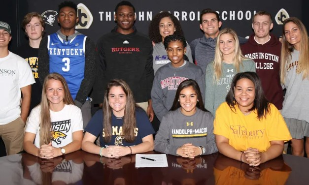 John Carroll signees