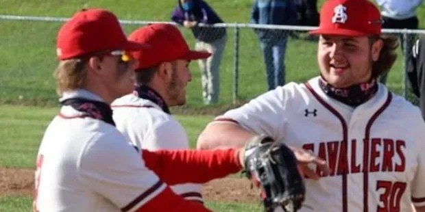 Spalding and Curley win again in A Conference baseball