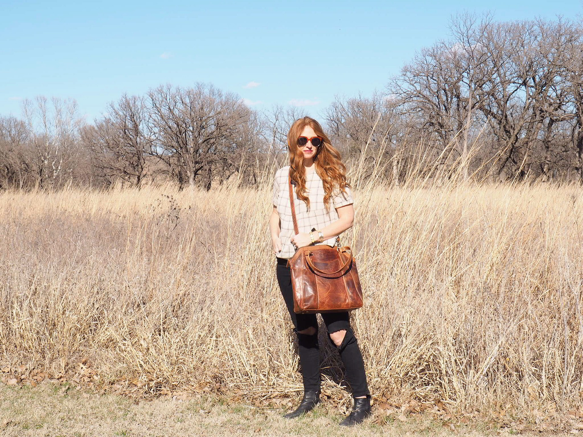 leather crossbody bag | ethically made and sold by Storyweaver Mercantile
