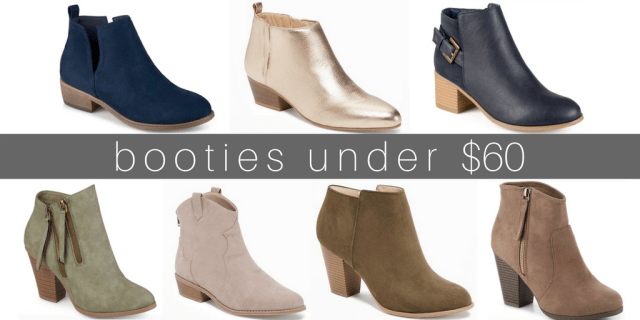 the best fall booties under $100