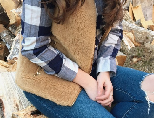 how to style fur vest