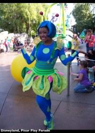 Disneyland Pixar Parade 2