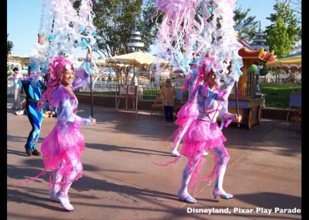 Disneyland Pixar Parade 3