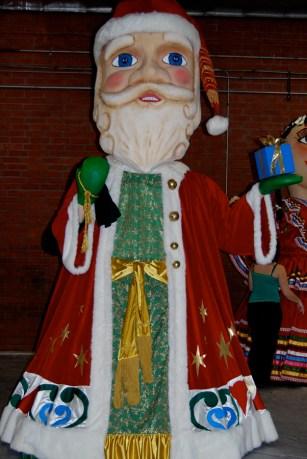 Disneyland Puppet Santa Claus