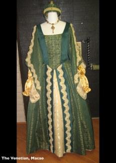 Venetian Green Dress