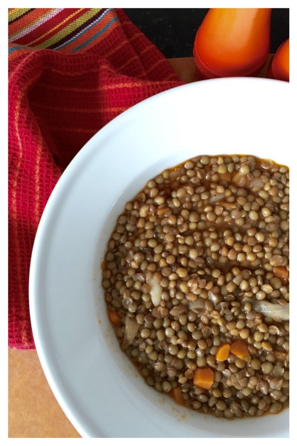 Greek Lentil soup, Fakies