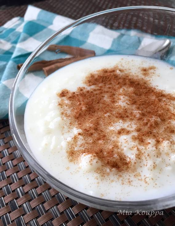 Rizogalo / Rice pudding (Ρυζόγαλο)