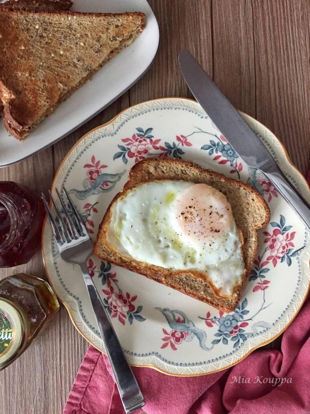 Fried egg (Αυγό τηγανητό)