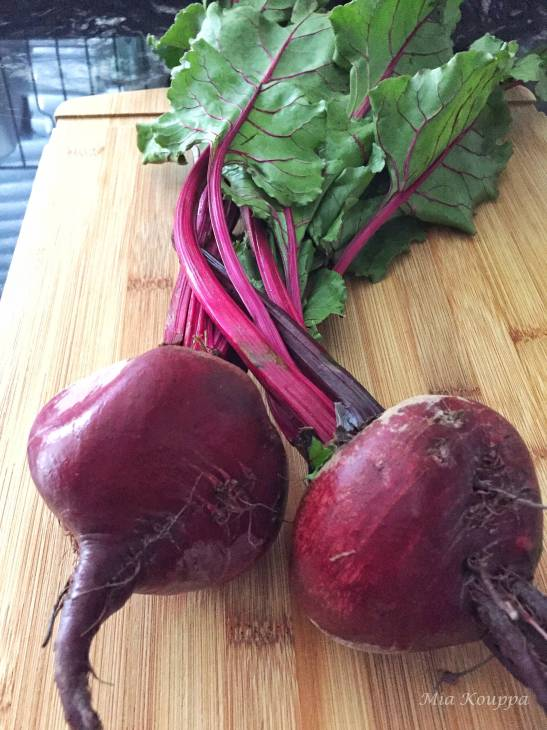 Beets and their greens