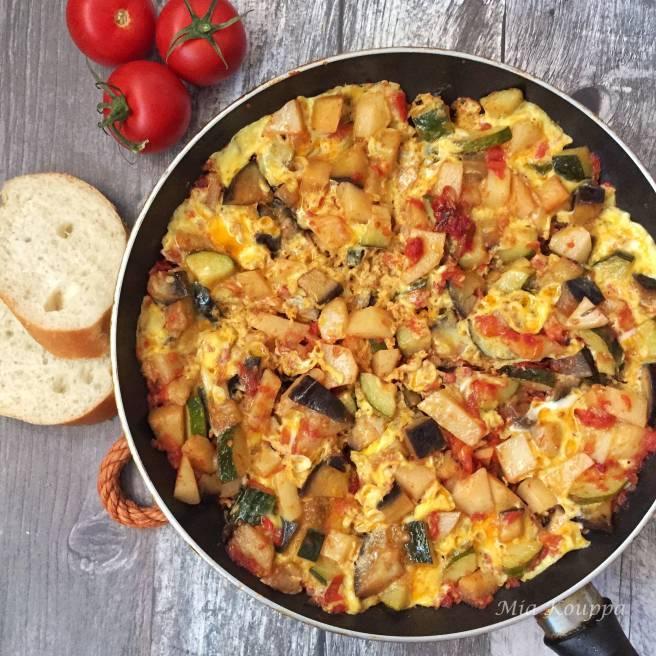 Tsik Tsik Summer vegetables with egg