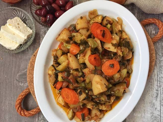 Briam! Greek roasted vegetable recipe