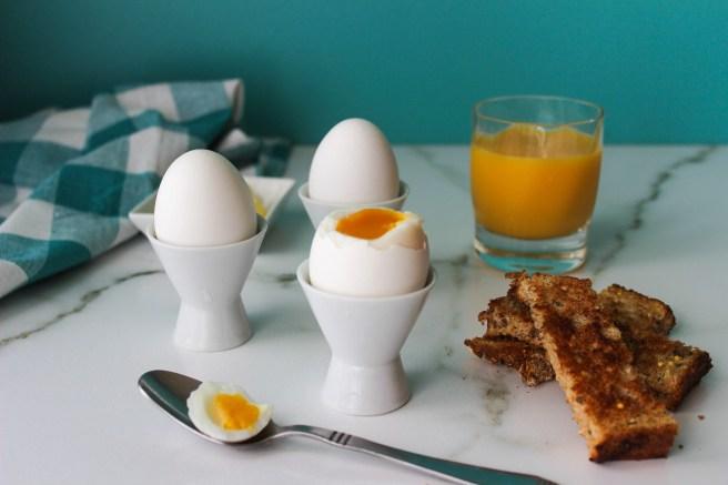 Soft boiled egg (Αυγό μελάτο)