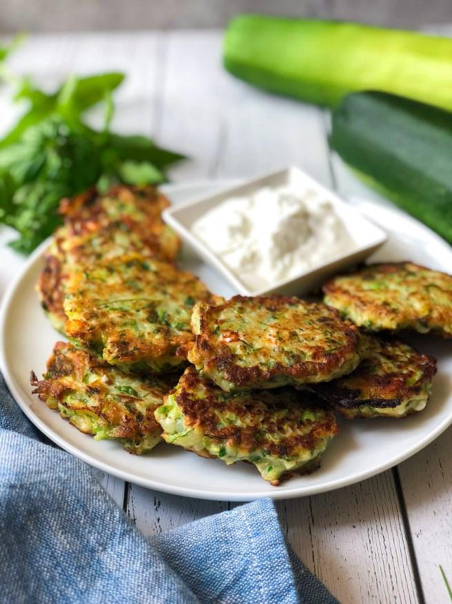 Zucchini fritters (Κολοκυθοκεφτέδες)