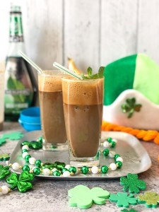 Mint chocolate frappe