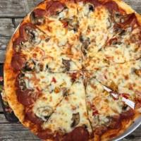 Thea Voula's pizza