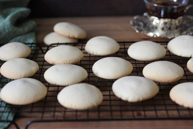 Tsoureki inspired shortbread