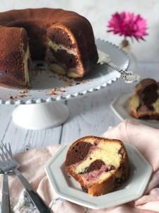 Neopolitan marble cake