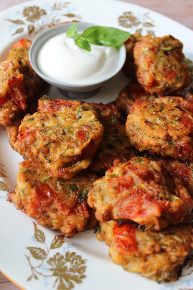 Tomato fritters