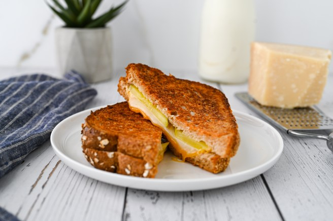The secret to making the best grilled cheese sandwich includes a variety of cheeses and a few tricks