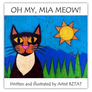 Mia Meow Children's Picture Book Project about a creative cat