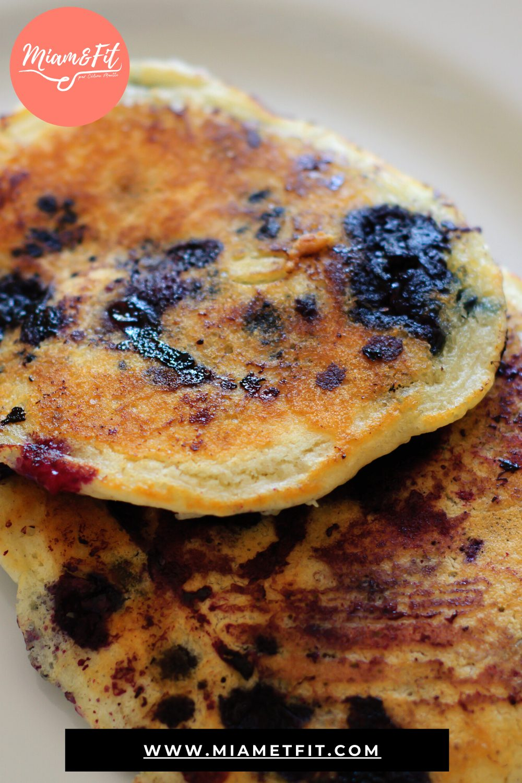Pancakes protéinés pour bébé au sevrage