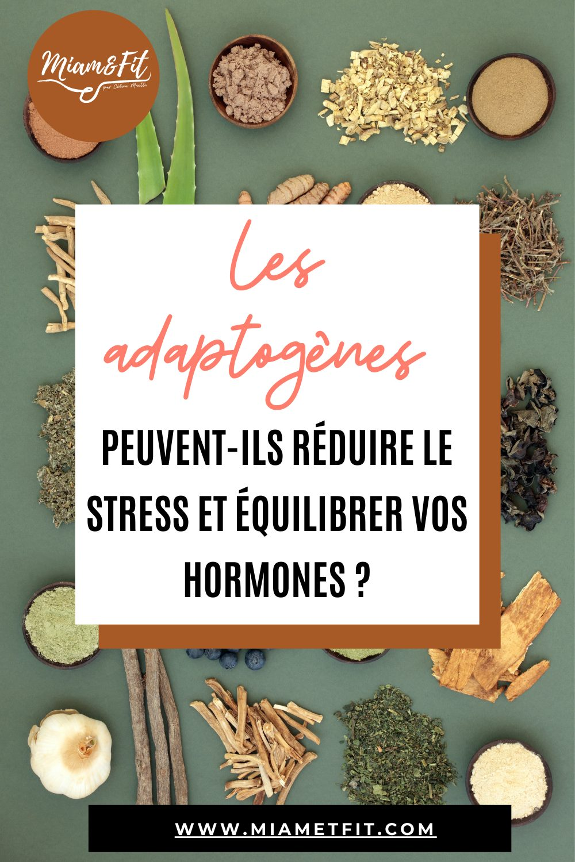 Les adaptogènes peuvent-ils réduire le stress et équilibrer les hormones ?