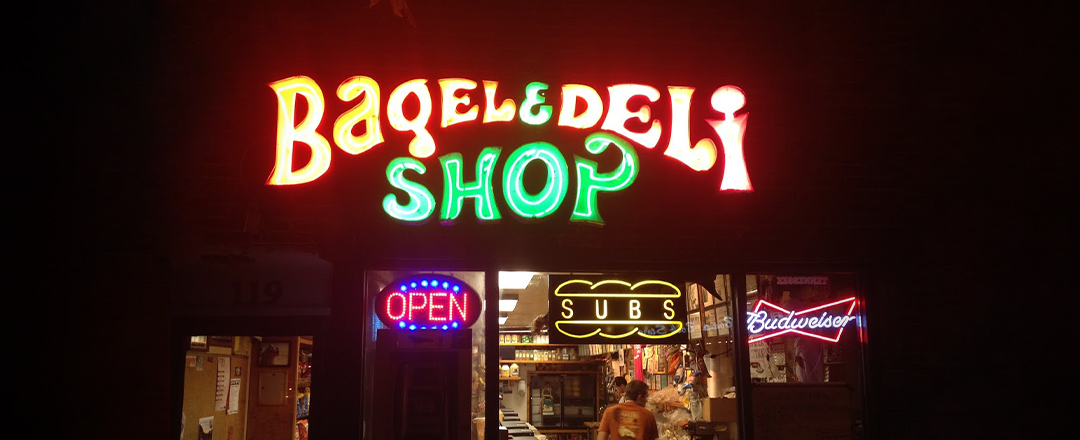 Bagel and Deli storefront