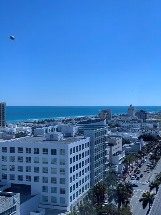 David L Wrubel CPA PA- Miami Beach Shoreline View - from ALL Professional Staff Office Windows
