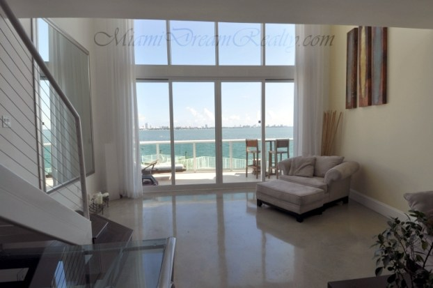 Bay View Loft Living Room