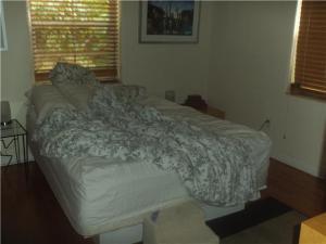 Dark Room-Messy Bed