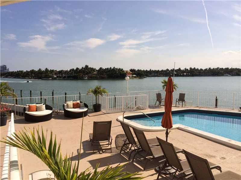 Indian Creek Club Marina Miami Beach pool