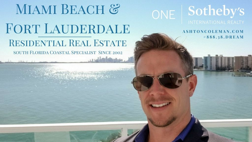 Ashton Coleman P.A. ONE Sotheby's International Realty 2018