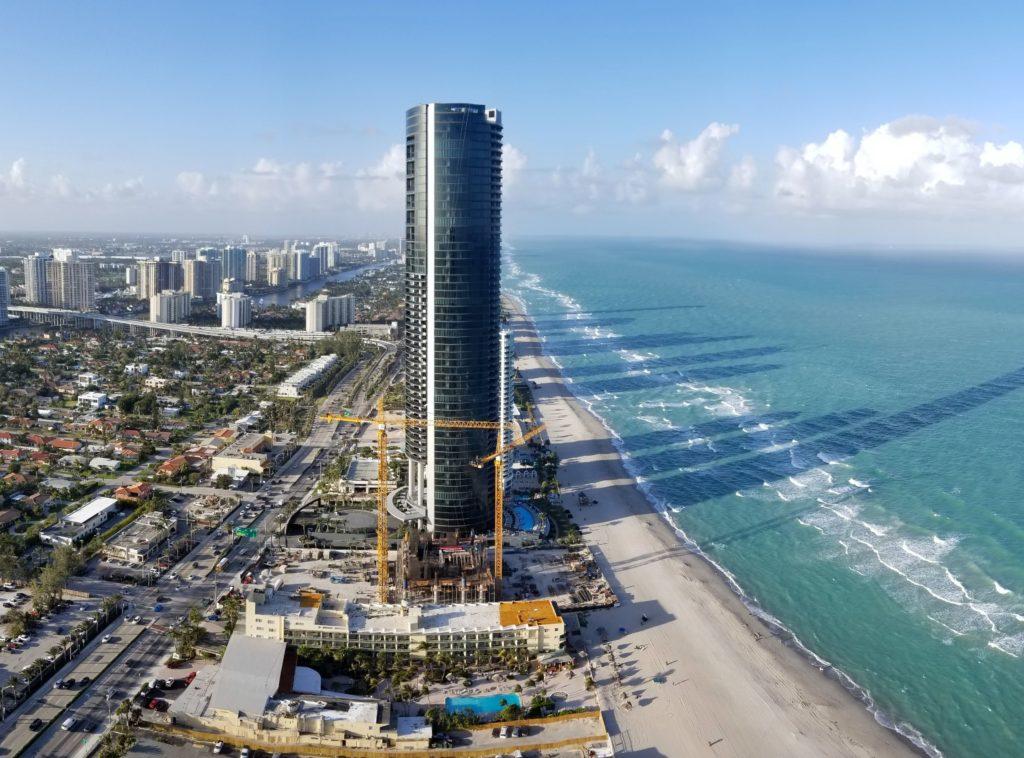 Porsche Design Tower Sunny Isles Beach FEB 2018