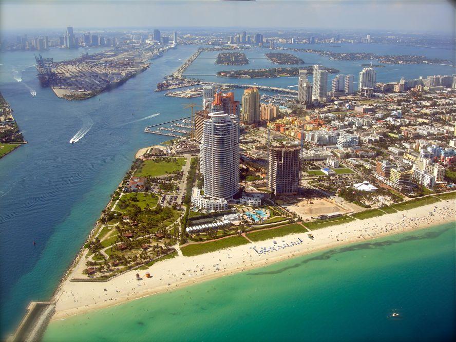 South Pointe Miami Beach Florida