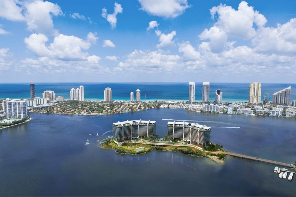PRIVE Aventura Miami Island Estates for Sale