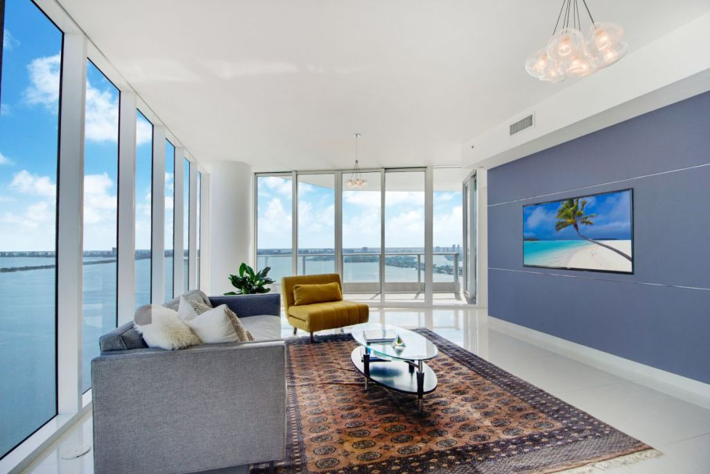 Paramount Bay #3801 Living Room