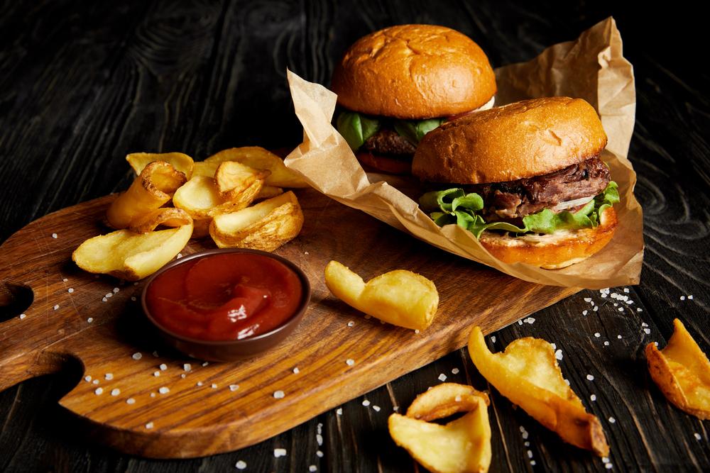 Gourmet burgers restaurant supply