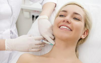 Facial Collagen Injections