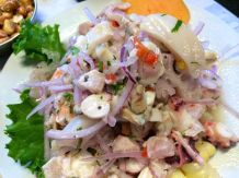 Ceviche at Cholos