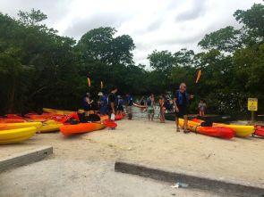 Kayaking Oleta River State Park