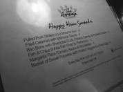 The Annex's excellent happy hour