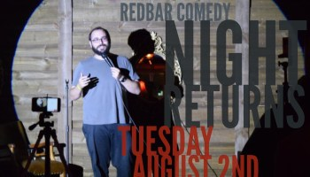 Here's What to expect on tonights redbar comedy night