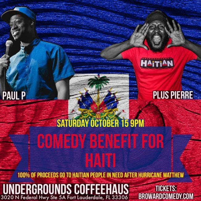 Comedy Benefit for Haiti